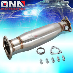 For Honda Civic Crx 88 91 Ee Ef Stainless Hi Flow Performance Exhaust Piping