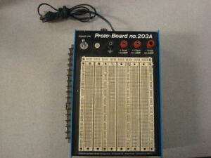 Continental Specialties 203a Proto board Breadboard