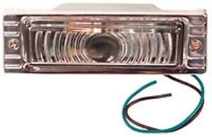 Parking Light Assembly Clear 12v 1947 48 49 50 51 52 53 Chevrolet Chevy Truck