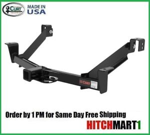 Fits 1995 2001 Ford Explorer W Oversize Spare Tire Class 3 Curt Trailer Hitch 2