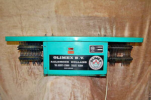 Olimex Floral Deleafing Machine With Twin Brushes L2247