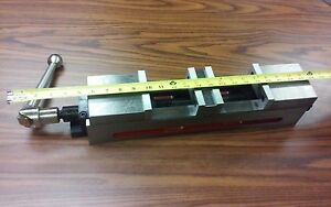 4 Double Lock Cnc Precision Vise 22 Overall Length 8500 dl4 New