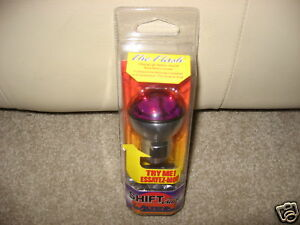 Purple Universal Gear Shift Knob Glide Lever Lights Up