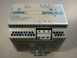 Used Lambda Dlp240 24 1 e Power Supply 24vdc 10a