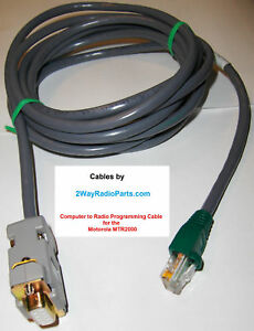 Motorola Programming Cable For Mtr2000 Mtr 2000 Repeater Base Station