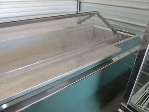 Refrigerated Salad Bar produce Case By Hussman S s Interior Runs Great