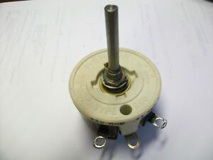 Memcor 250 Ohm 50 Watt Rheostat 1 3 4 Shaft