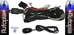 New Universal Wiring Harness Kit For Fog Lights Lamps