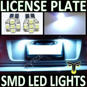 White Led License Plate Tag Light Bulbs Z1