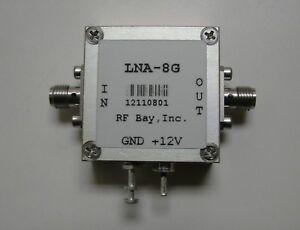 1000 8000mhz Low Noise Amplifier Lna 8g New Sma