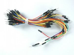 65pcs Arduino Wire Jumper Color Wires For Diy Free Shipping