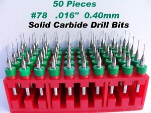 50 Pieces 78 0 40mm 016 Solid Carbide Drill Bits lu