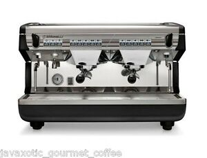 Nuova Simonelli Appia Ii Volumetric 2 Group Commercial Espresso Machine On Sale