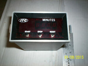 Itc Industrial Timer 2634 31 Timer Minutes
