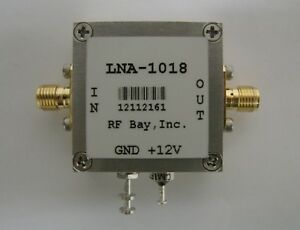 50 1000mhz 18db Low Noise Amplifier Lna 1018 New Sma