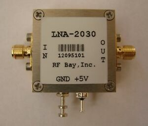 2000 3000mhz 0 9db Nf Low Noise Amplifier Lna 2030 sma