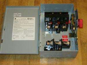 Ge Heavy Duty 30 Amp Safety Switch Th3361