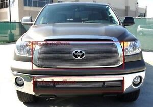 2010 2013 Toyota Tundra Billet Grille Combo Bolt Over