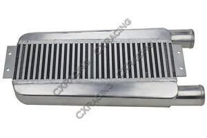 Cxracing 2 5 Bar Plate Turbo Intercooler 22 75x11x3 For Eclipse Talon Dsm
