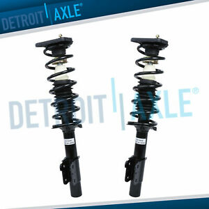 Chevy Malibu Grand Am Cutlass Alero Pair Rear Complete Struts Coil Spring Set