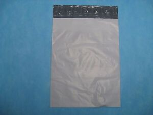 100 10 X 13 White Poly Mailers no Bubble