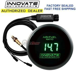 Innovate 3873 Wideband Air fuel Db Gauge 52mm Afr Uego Green Lc 2 Made In Usa