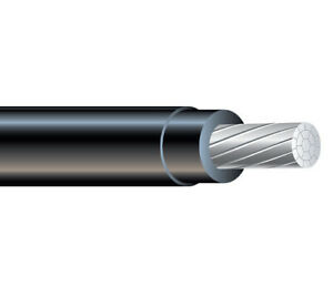 500 350 Mcm Aluminum Xhhw 2 Building Wire Xlpe Insulation Cable Black 600v