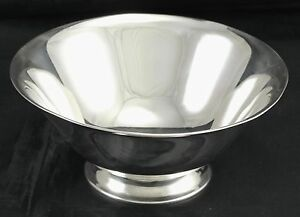 Tiffany Sterling Silver Footed Bowl Pattern 20660 5 1 2 Inches