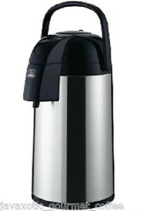Zojirushi Thermal Airpot Coffee Tea Beverage Dispenser 3 Liter 101oz Aawe 30sb