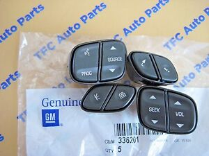 Chevy Gmc Silverado Suv Steering Wheel Switch Buttons Oem