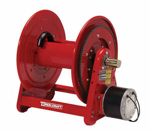 New Reelcraft Electric Motor Driven Hose Reel Sealcoating