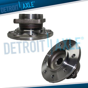 2 New Front Wheel Hub And Bearing Assembly For 94 99 Ram 2500 4wd 8 Lug Dana 60