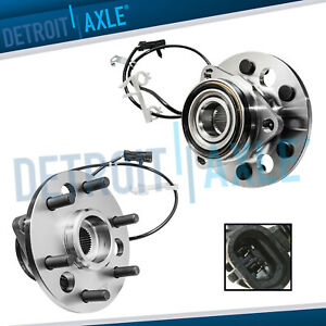2 Front Wheel Bearing Hub For 1995 1999 Chevy Gmc K1500 Suburban Yukon 6 Lug 4x4
