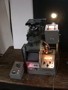 Olympus Pmg 2 Inverted Metallurgical Microscope Powers Up Fine