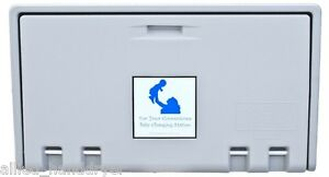 Allied Hand Dryer private Label Baby Changing Station Gray Horiz Ahd100 01