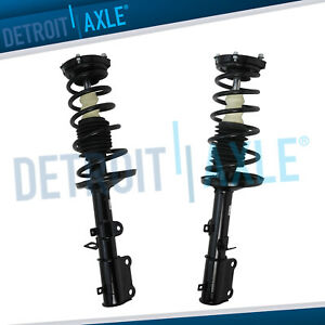 Rear Left Right Struts Complete Assembly Fits Toyota Corolla Chevy Geo Prizm