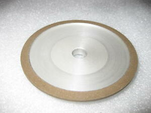4 X 1 2 X 1 2 Dish Style 12a2 Diamond Grinding Wheel 180 Grit 75 Con New