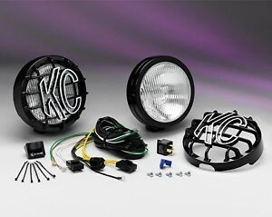 Kc 127 Slimlite Dodge Jeep 6 Off Road Fog Lights 100w
