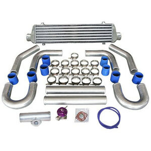 Cxracing Universal 27 5 Turbo Intercooler 2 5 Piping Blow Off Valve Bov