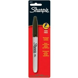 288 Sanford Sharpie 30101pp Original Fine Point Permanent Black Marker Pens