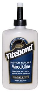 12 Franklin 2403 Titebond 8 Ounce Moding Trim Wood Glue Adhesive
