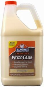 4 Elmer s E7050 1 Gallon Carpenter s Interior Wood Glue For Furniture Repair