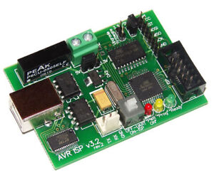 4in1 atmel Avr Isp Programmer pwr Supply usb Touart Ttl