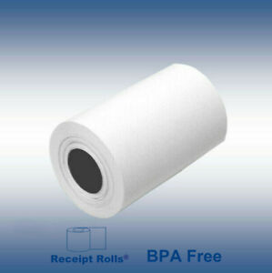 Credit Card 2 1 4 X 50 Thermal Paper Rolls Nurit 8000 100 Rolls