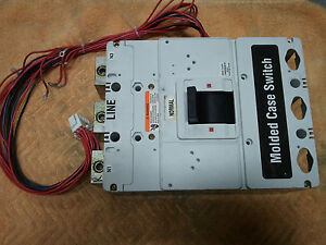 Eaton Cutler Hammer Phld3600f Molded Case Switch