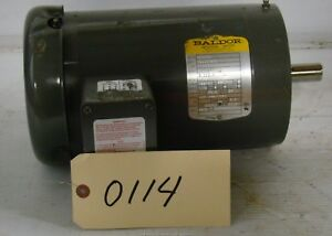 Baldor 2hp Electric Motor 1451c 230 460v Vm35587