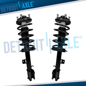 2 Front Strut Coil Spring 2001 2011 Ford Escape Mercury Mariner Mazda Tribute