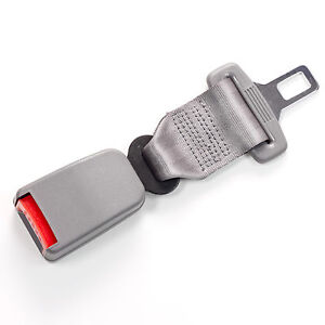 Click In Seat Belt Extender 7 Type A Gray E4 Safe