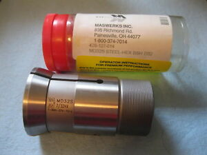 7 32 Maswerks Inc Steel Hex Bushing Collet Lathe Mill Md 32 S Tool 42s 127 014