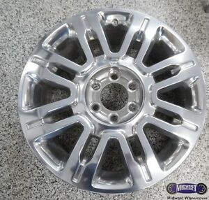 09 11 Ford Expedition Used Rim 20x8 1 2 6 Lug 135mm Alloy 3788